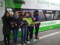 Fotoshooting Erfurter Bahn