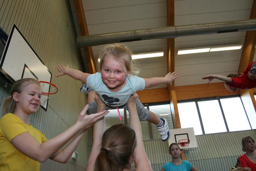 Große Resonanz beim Familiensporttag