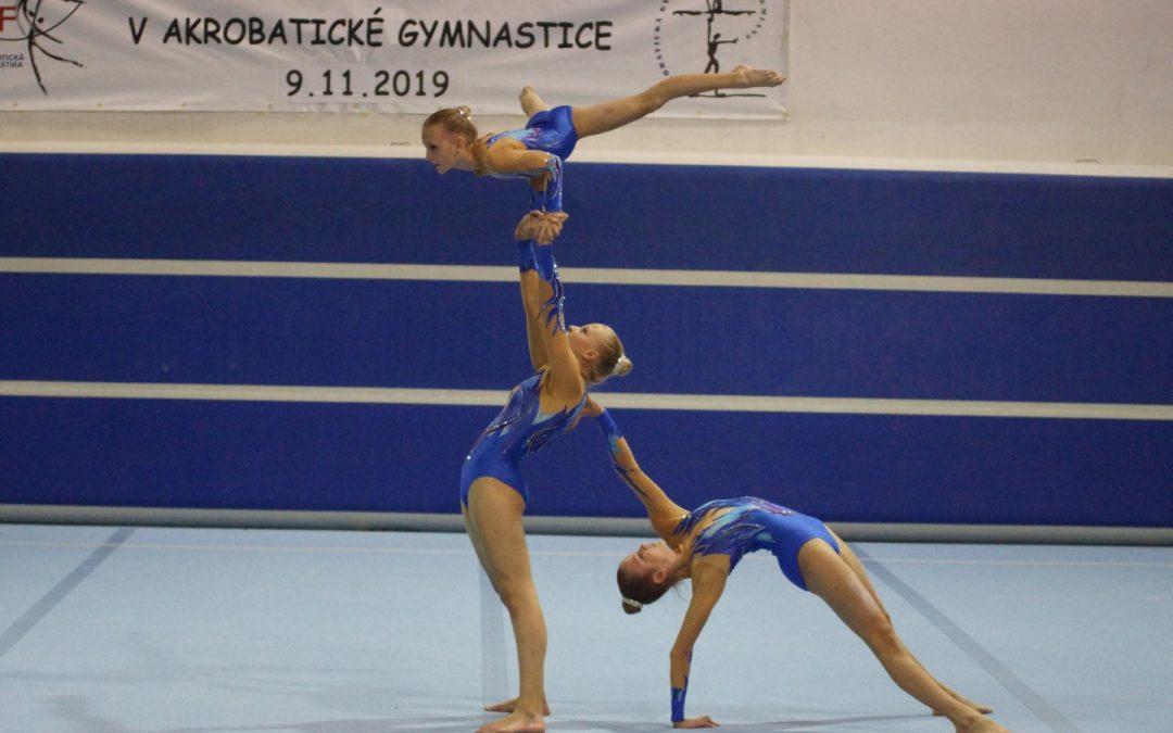 Akrobatikturnier in Prag